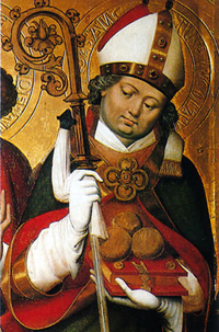 Icône de St Nicolas de Myre