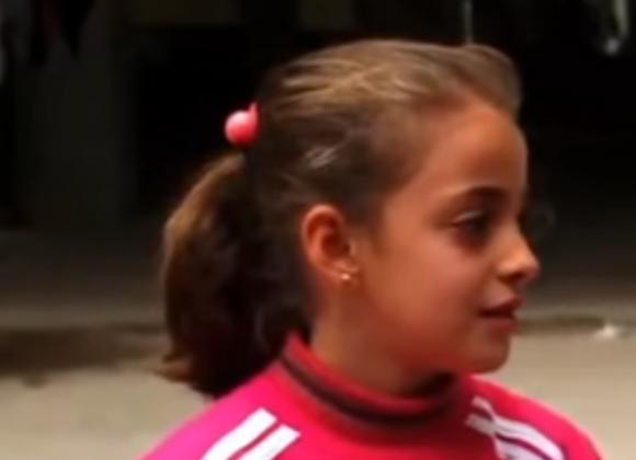 Une petite fille chrétienne interviewée en Irak…