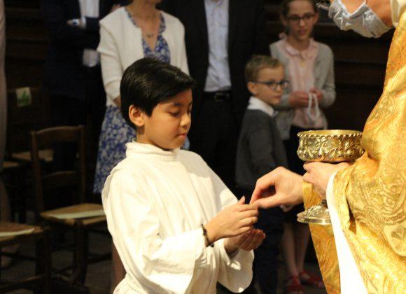 FIP : dimanche 14 juin – Premières communions