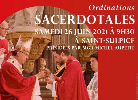 Ordinations sacerdotales 2021